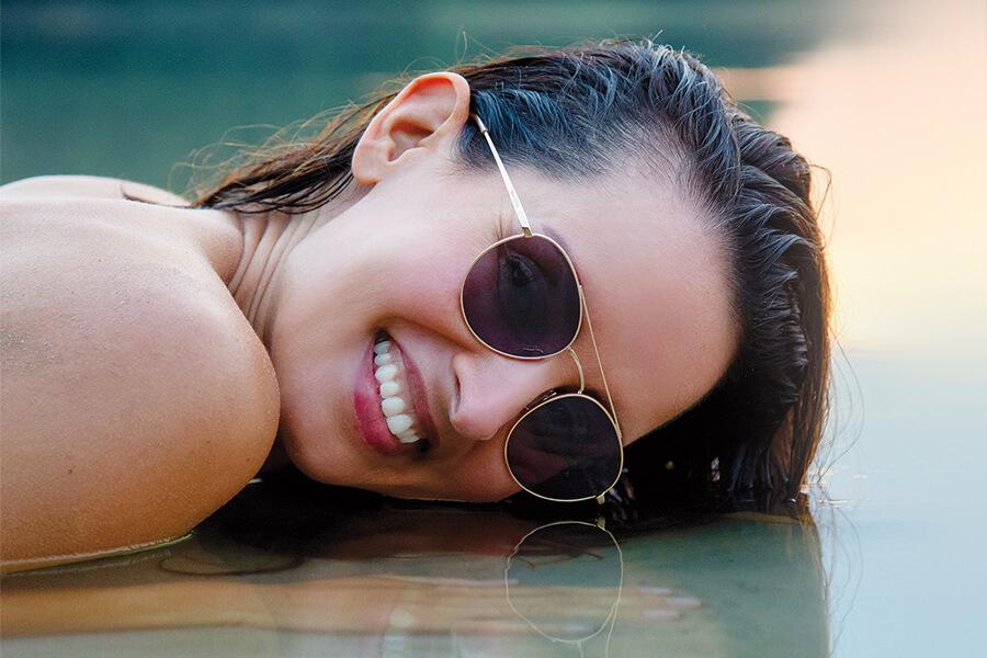 Sonderangebot Marken-Sonnenbrille in Sehstärke